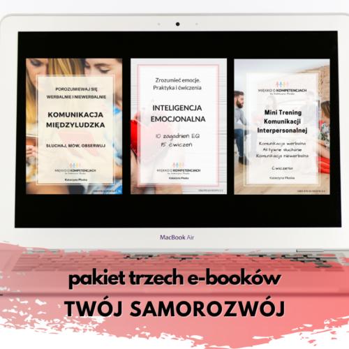 Pakiet trzech e-booków TWÓJ SAMOROZWÓJ